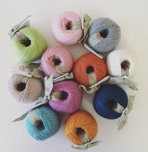 Glencoull 4ply Cotton Merino