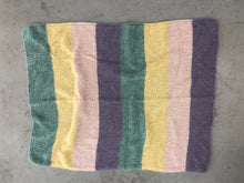Load image into Gallery viewer, Mohair Stripes Blanket PDF Pattern