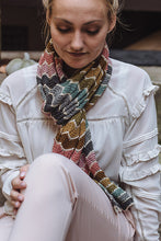 Load image into Gallery viewer, Trine's Scarf | printed pattern