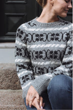 Load image into Gallery viewer, Clematis Sweater | printed pattern