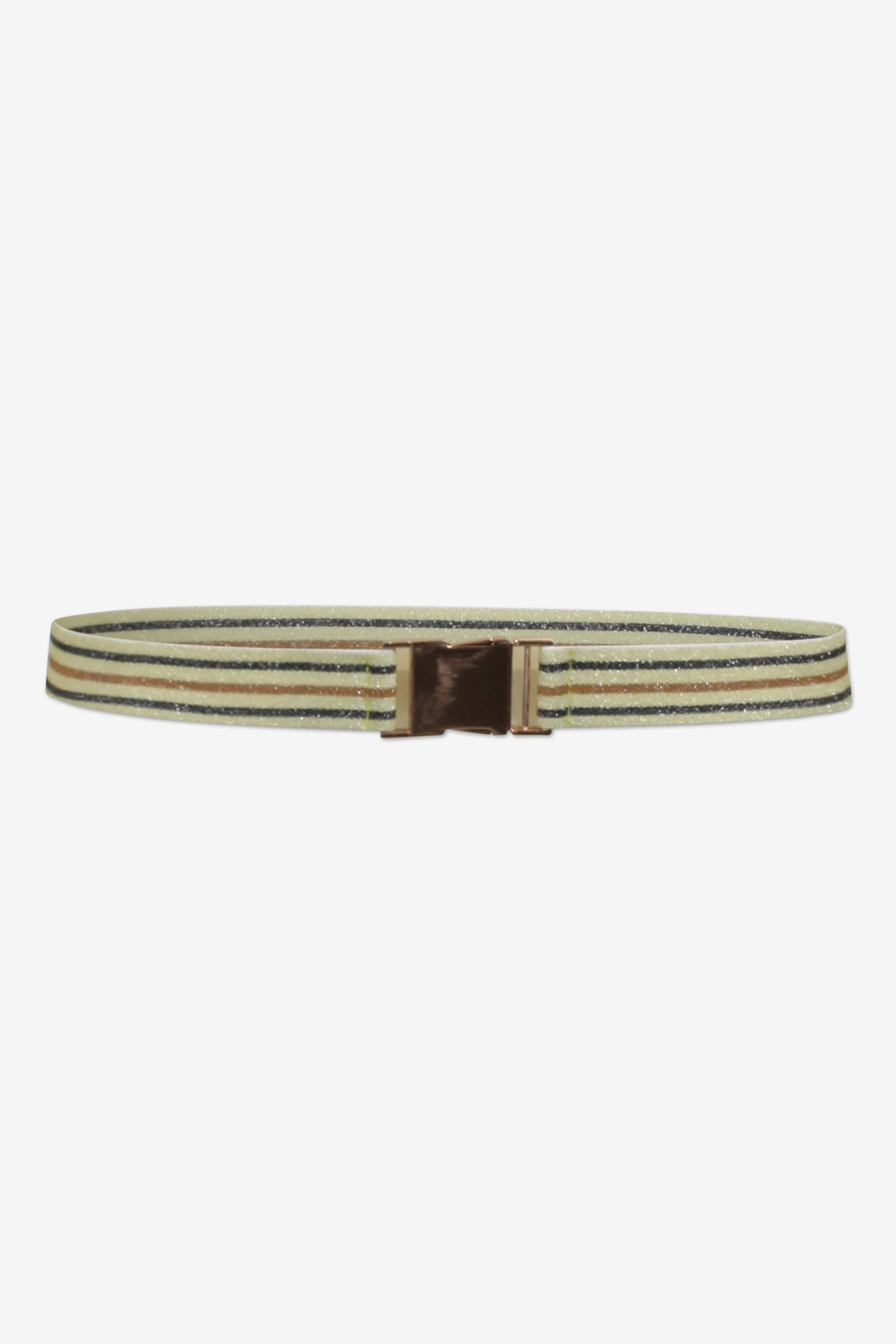 BUP Lilia belt in yellow, black, brown