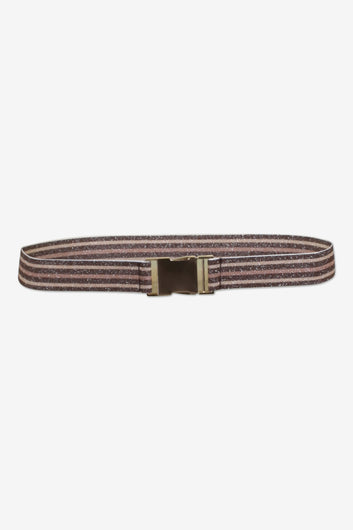 BUP Lilia belt in brown, cream, rose