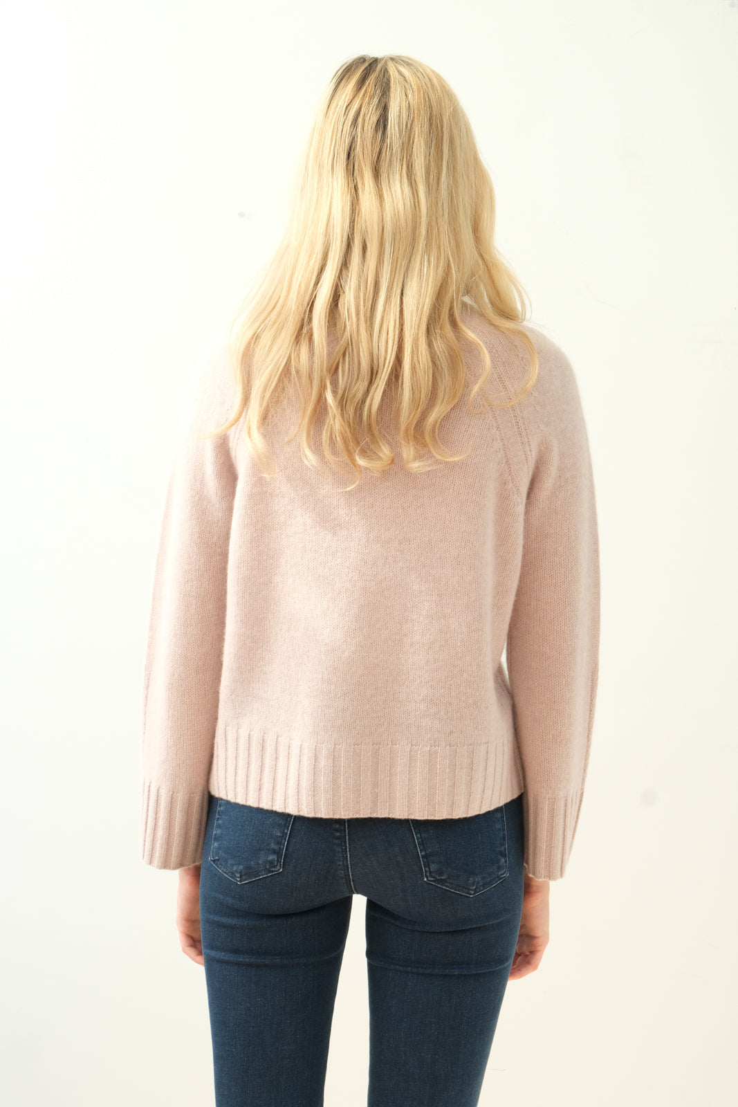 360 Leighton knit in adobe pink