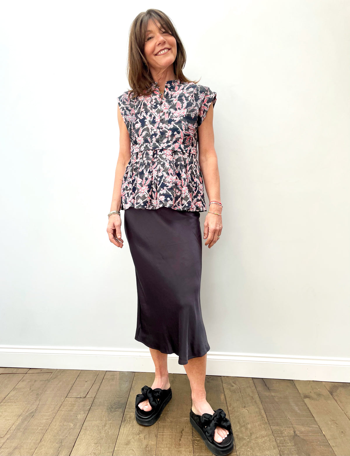 RAILS Berlin Skirt in Slate