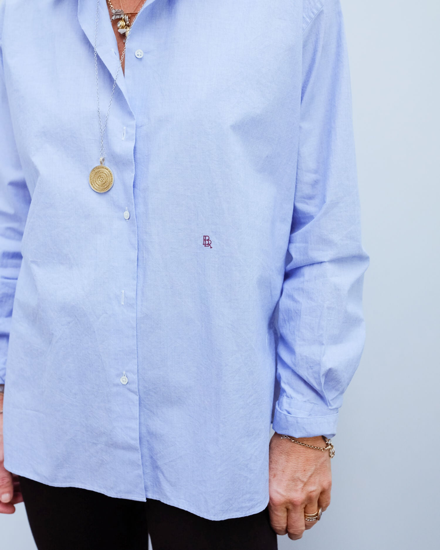 BR Gasto top in blue