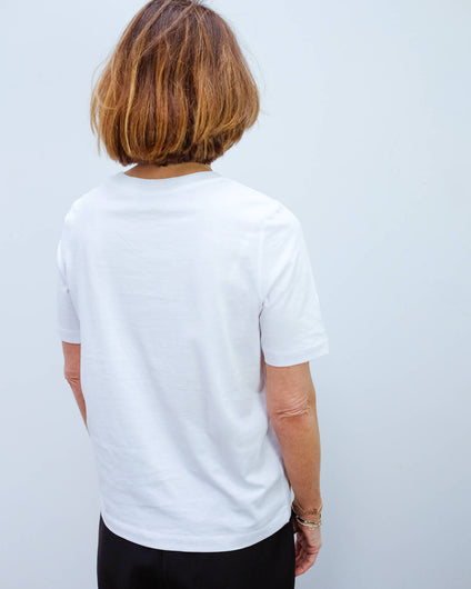 SLF Karla tee in white