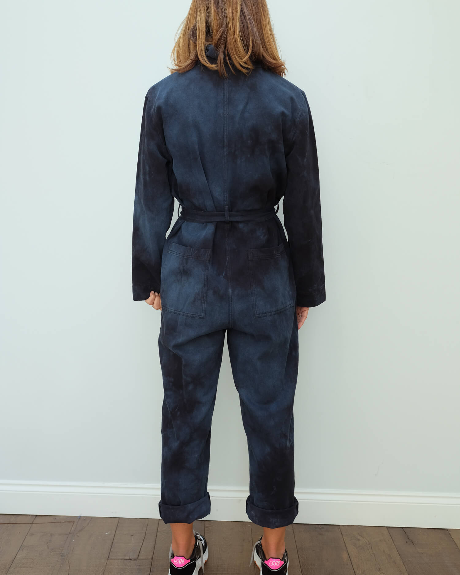 RA 8337 Coverall in dark indigo