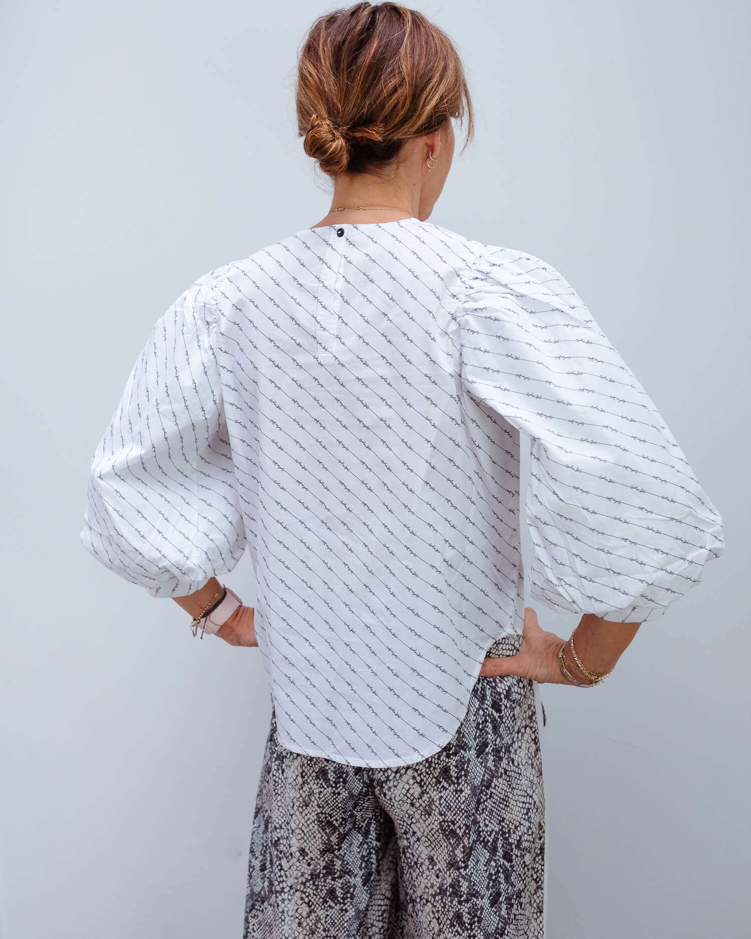 SLF Maris top in white