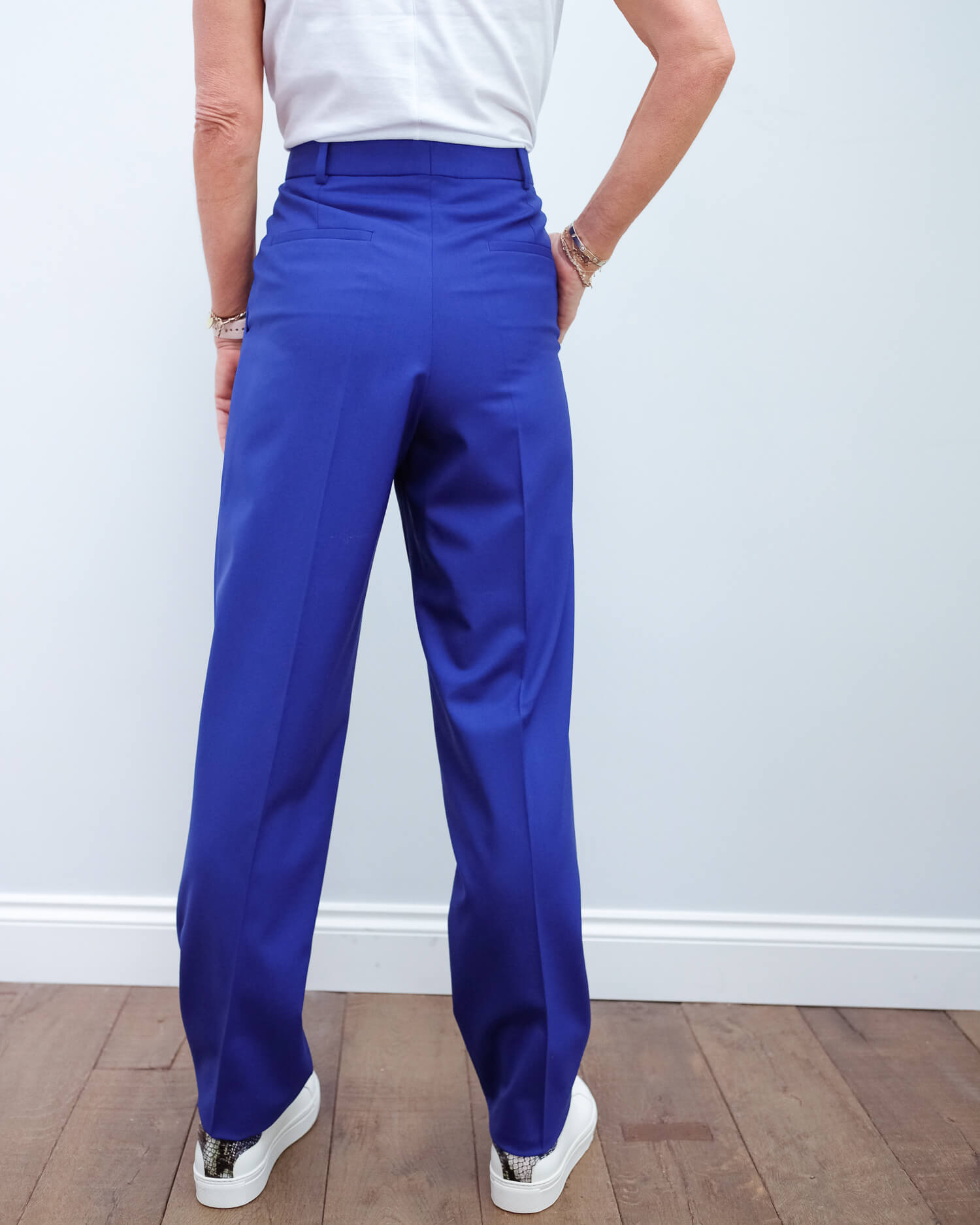 JOSEPH Fender trousers in klein