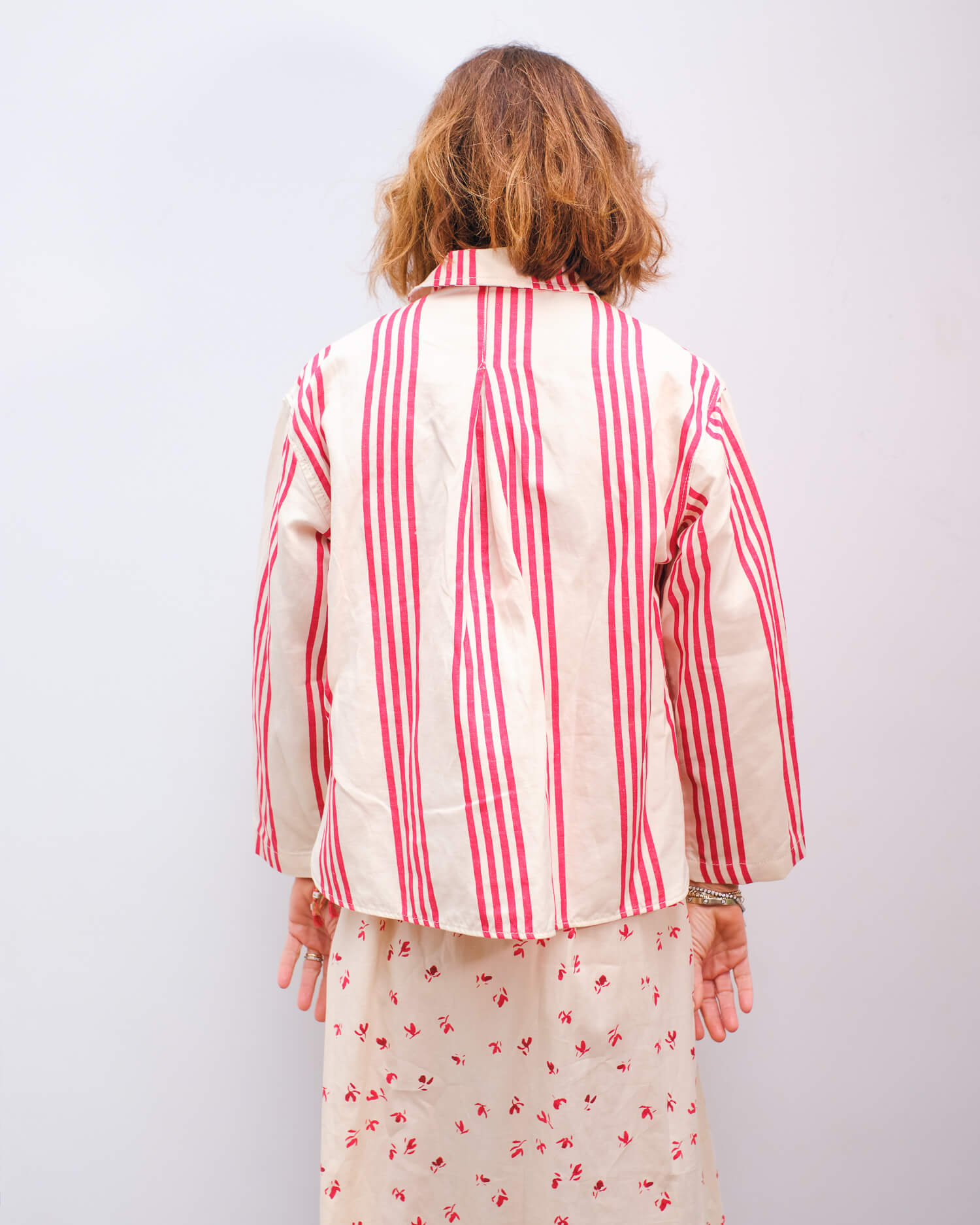 BR Pilous shirt in red stripe