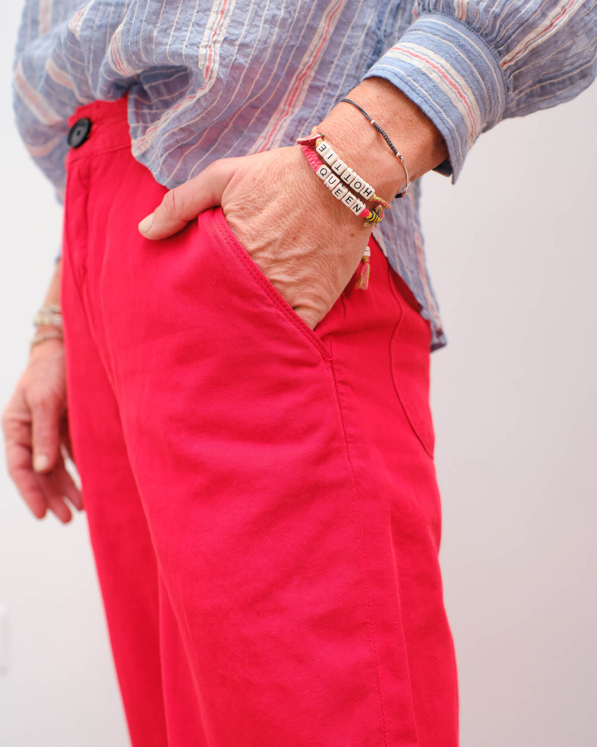 BR Pasop trousers in massai red