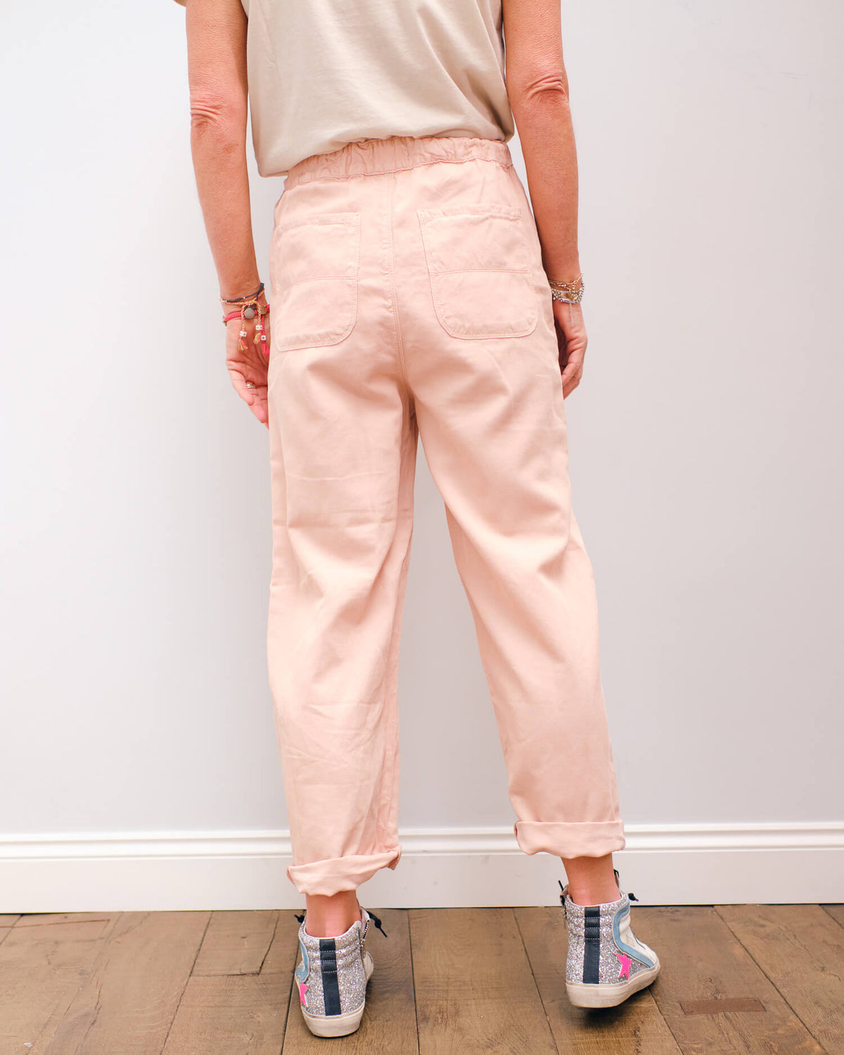 BR Pasop trousers in cotton candy