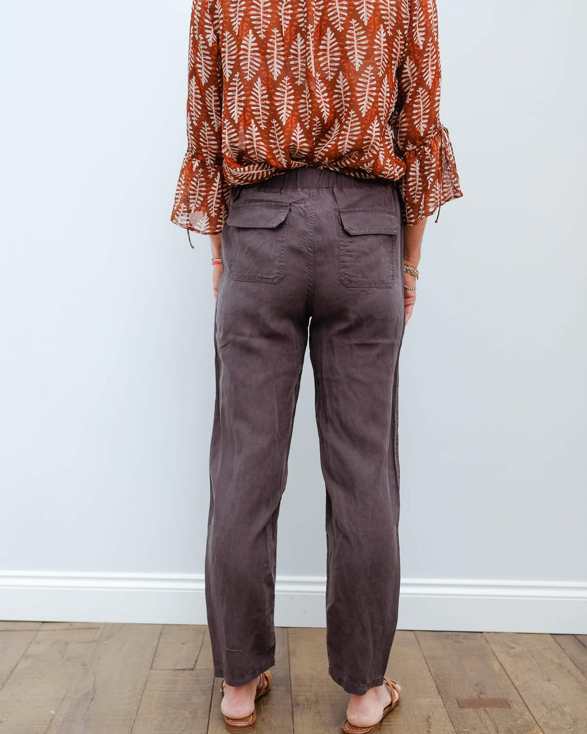 R Graham trousers in coal