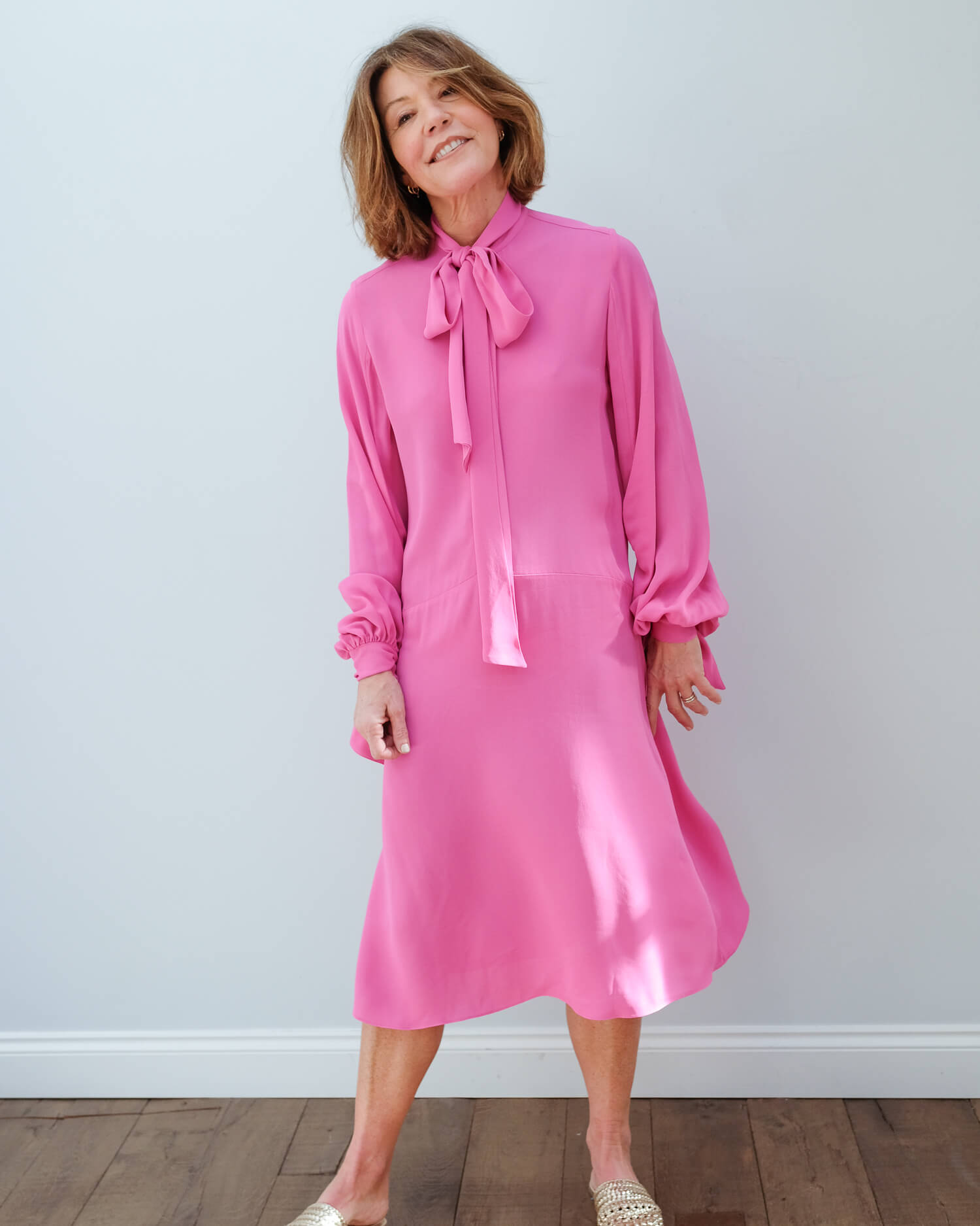 BMB Niccolos dress in pink