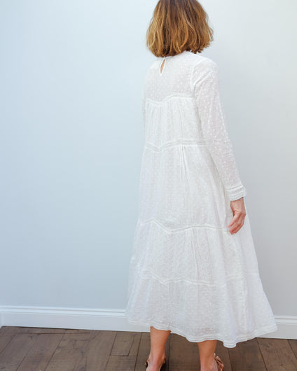 L&H Raison dress in white lace