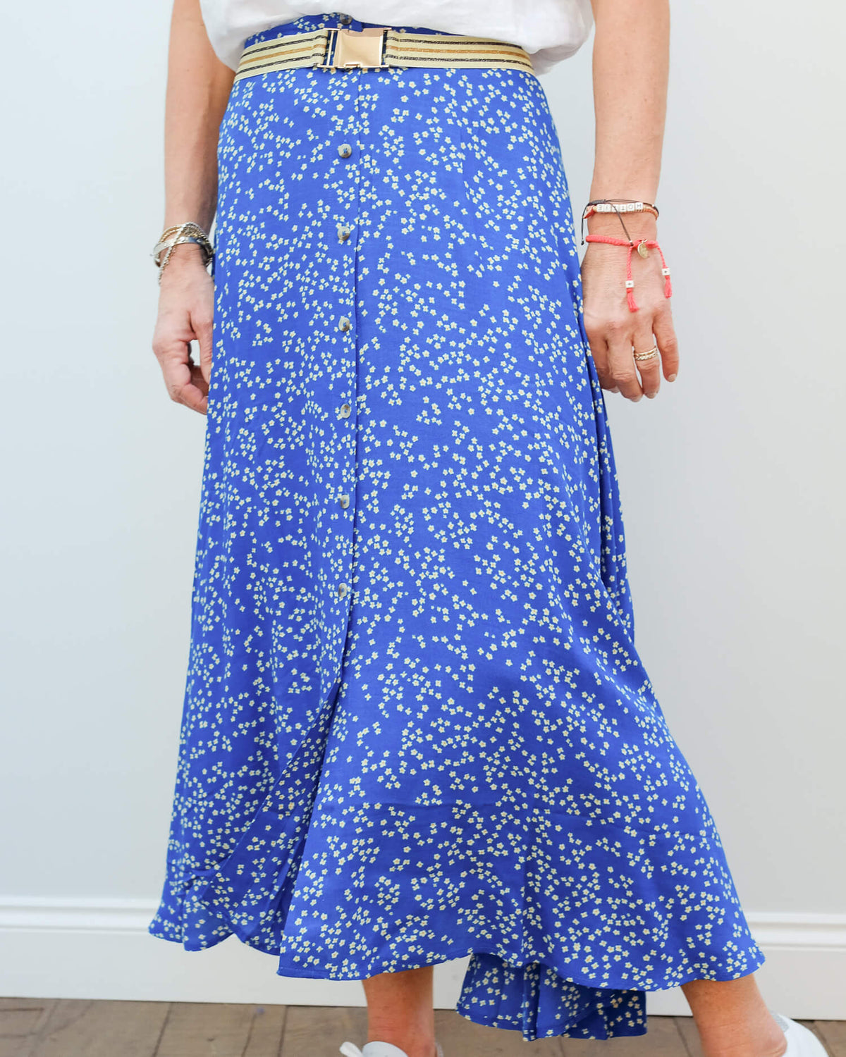 L&H Jacinthe skirt in daisy blue