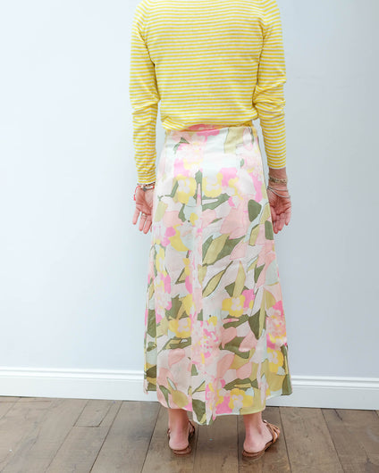 SLF Mola skirt in rose bloom