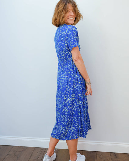 L&H Rimbo dress in daisy blue