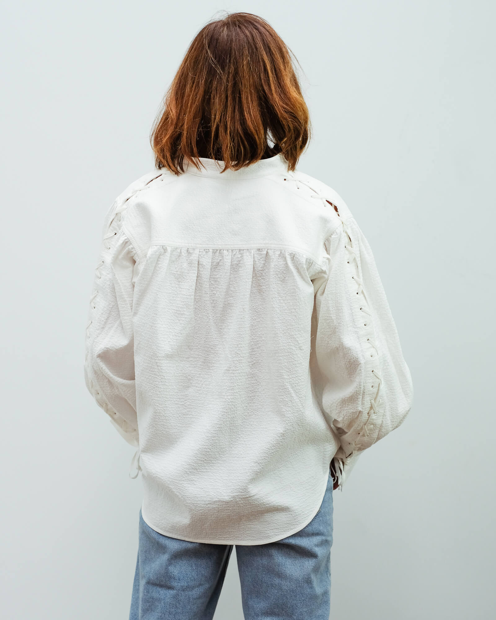 BMB Chalais top in soft white