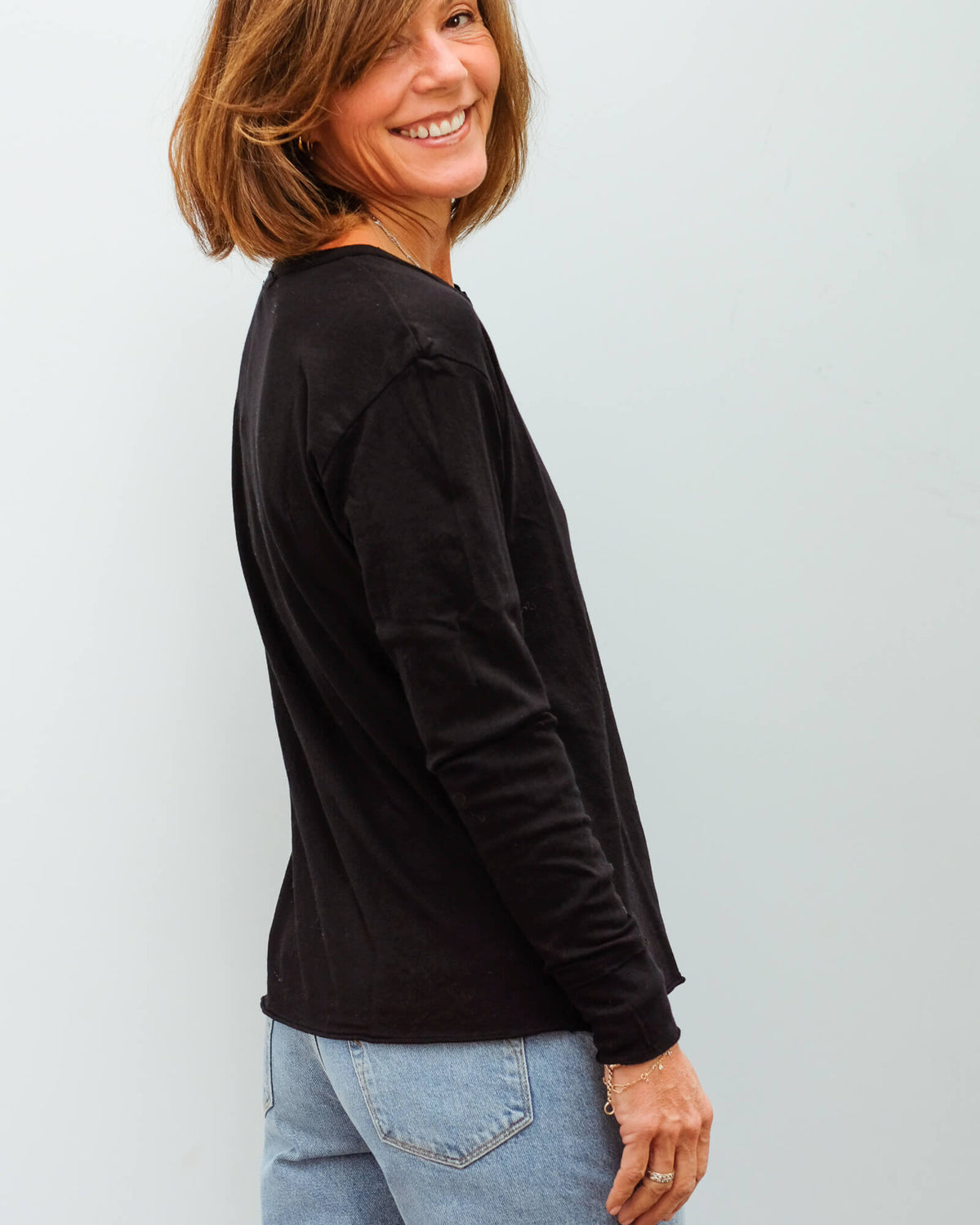MSTARS Nadia long sleeve in black