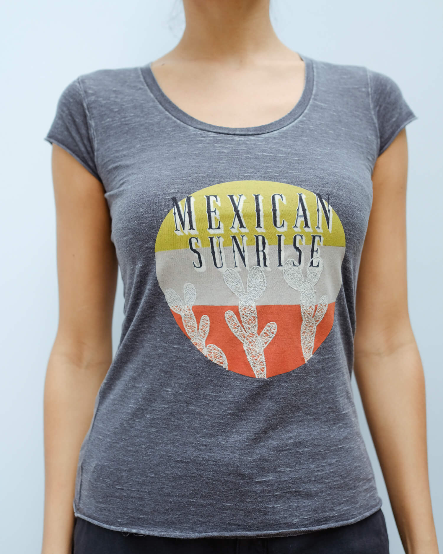 FIVE Mexican sunrise tee in carbon
