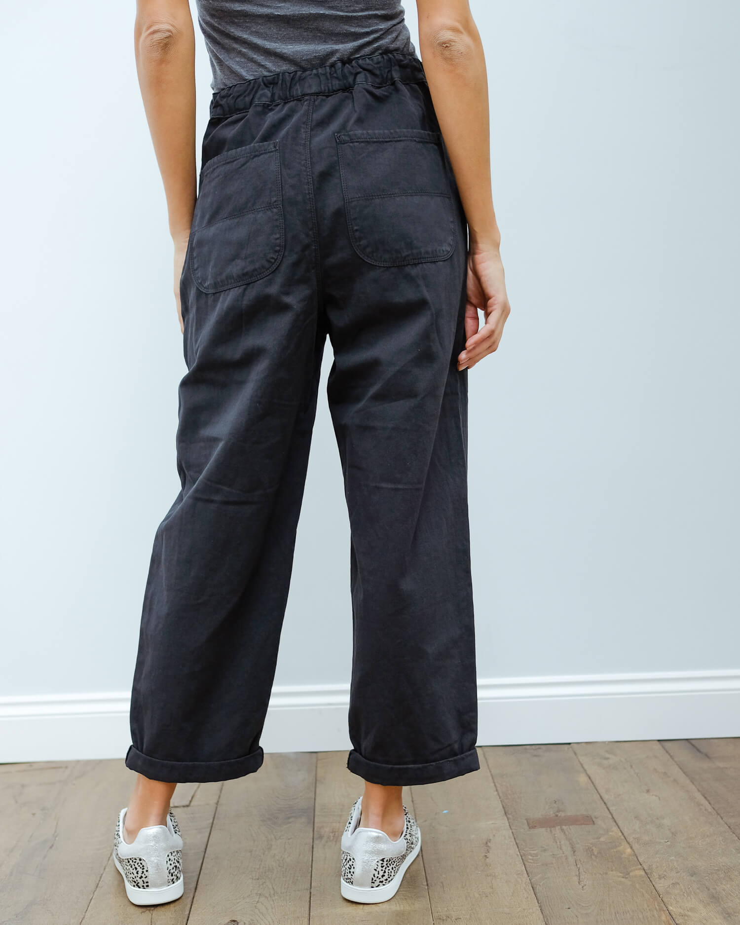 BR Pasop trousers in black blue