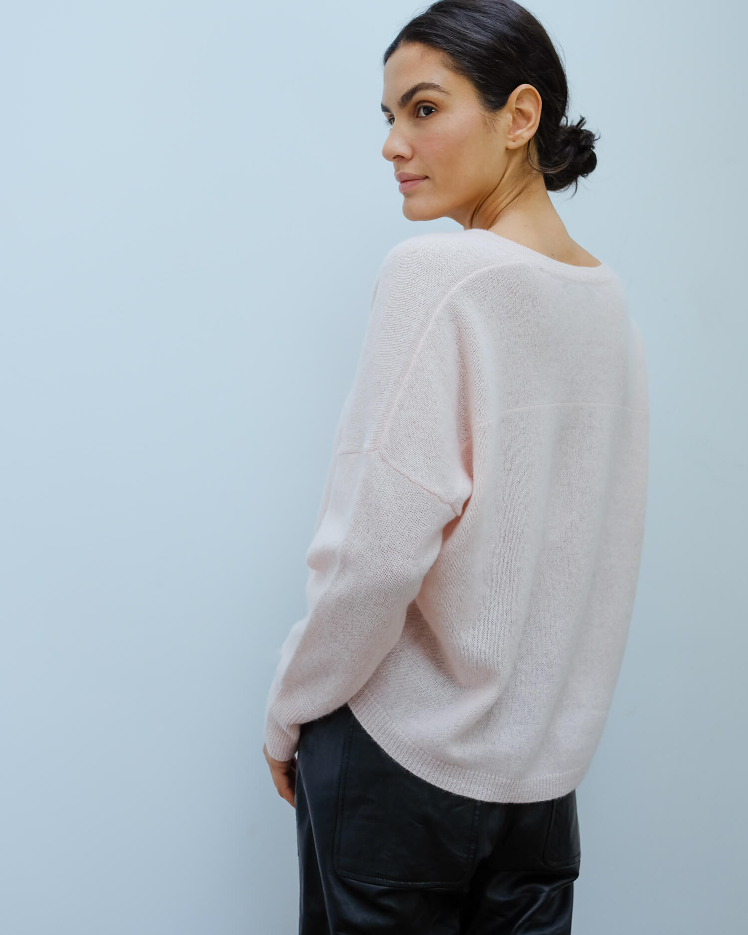 360 Marina knit in honey pink