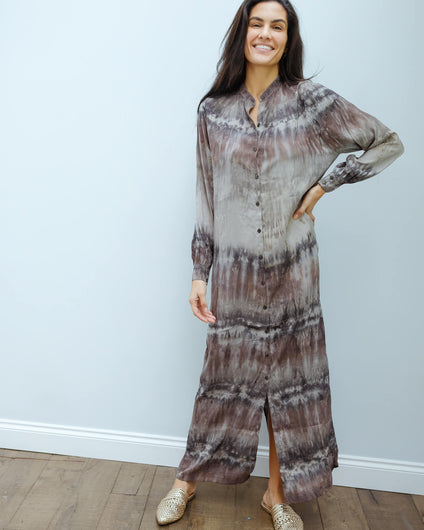 RS Lizzy shirt dress in charcoal