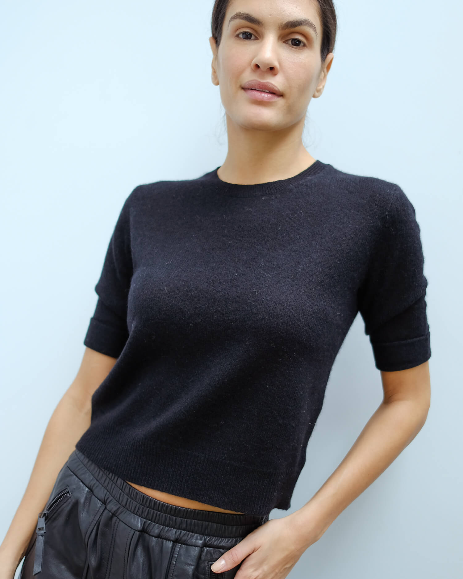 360 Moselle knit in black