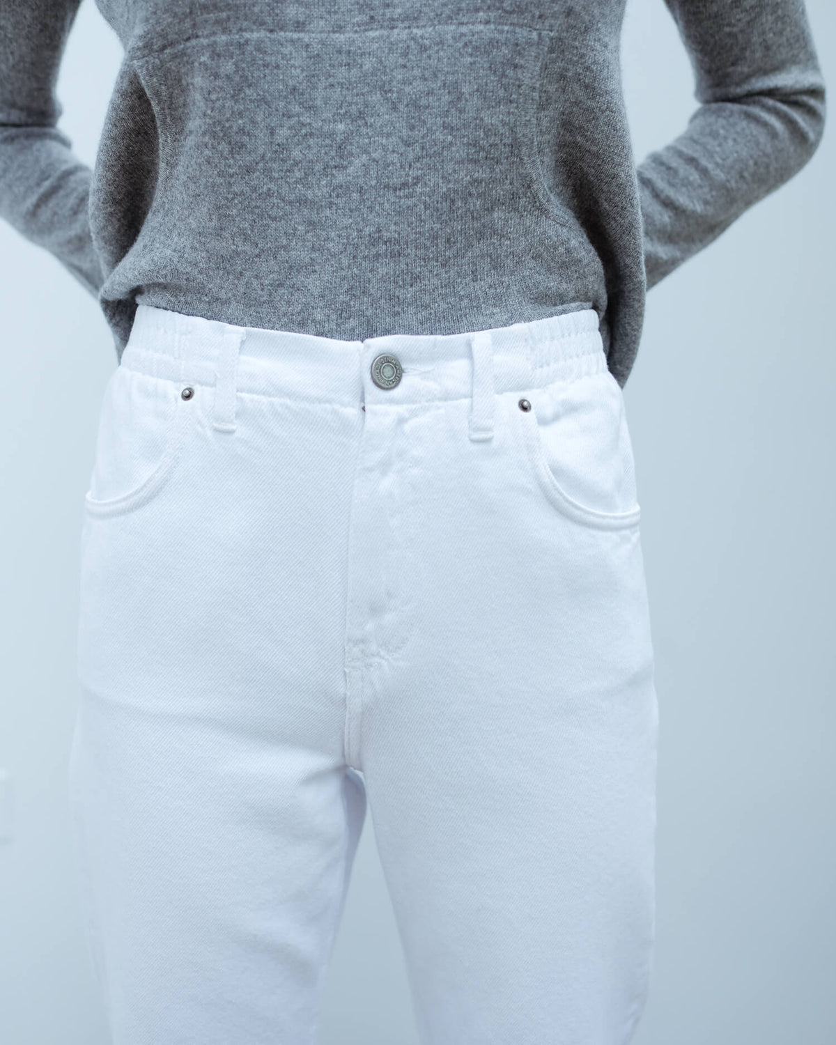 AV TINE173 5 pocket jean in white