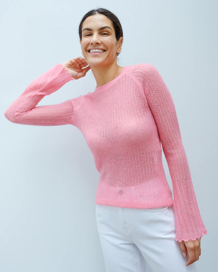 BMB Nasa knit in bubblegum