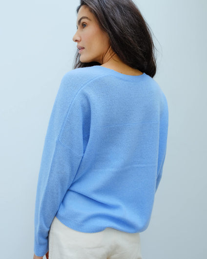 360 Marina knit in capri blue