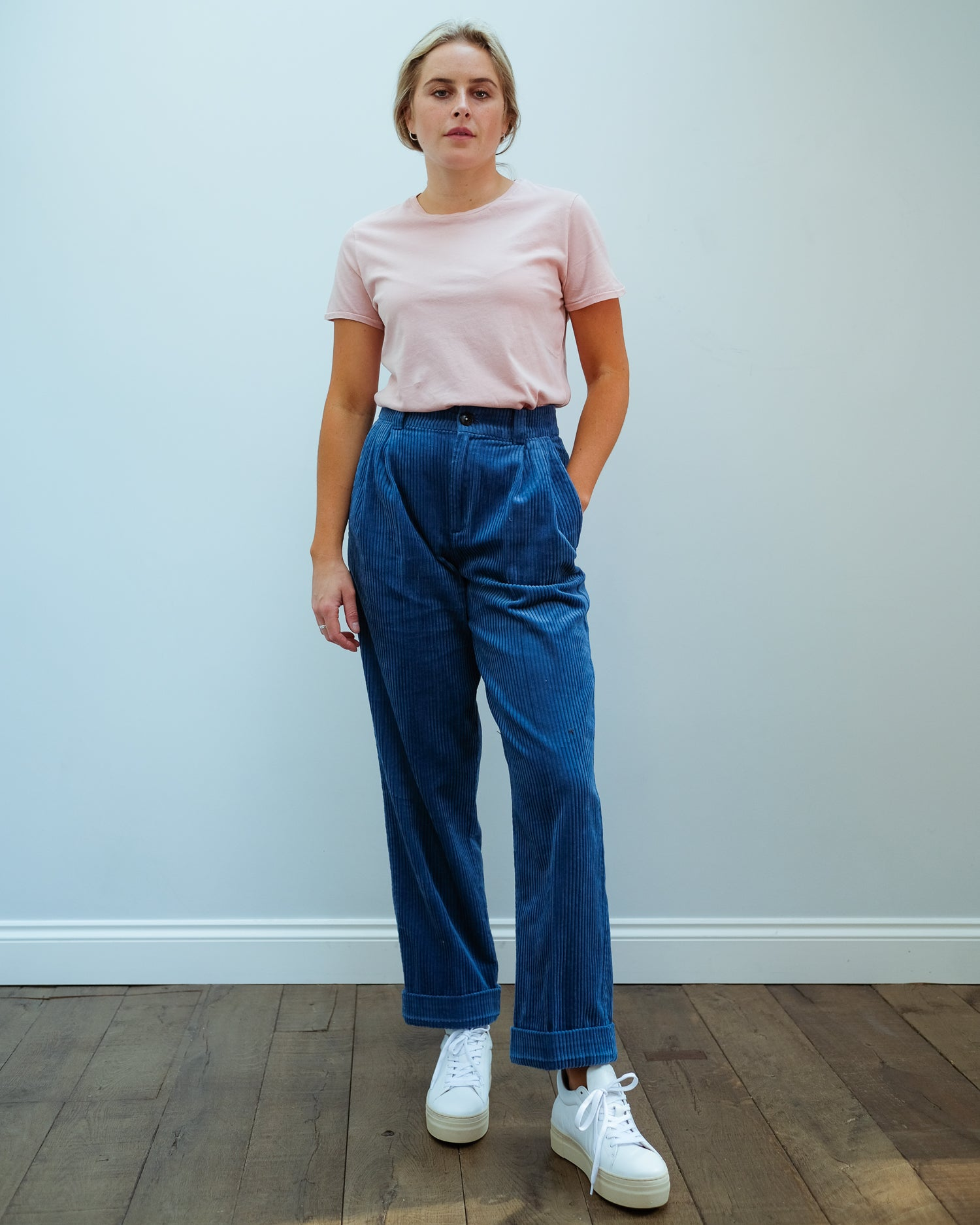 BR Lazard Trousers in Blue