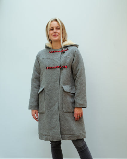 BR Louest Coat in Grey