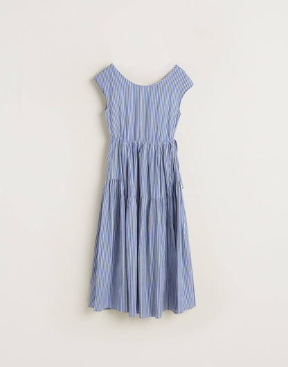BR Pasua dress in blue stripe