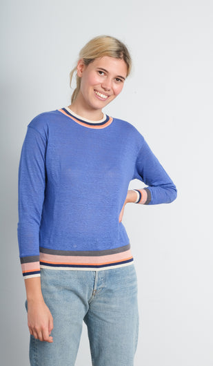 BR Senia top in ultramarine