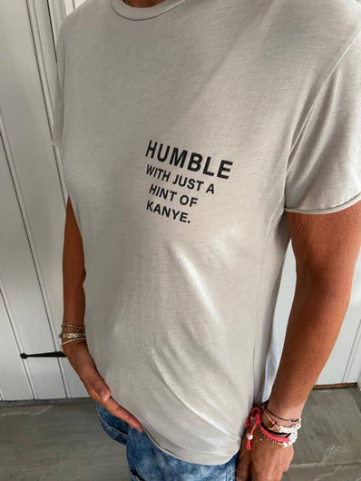 DTM Humble tee in grey