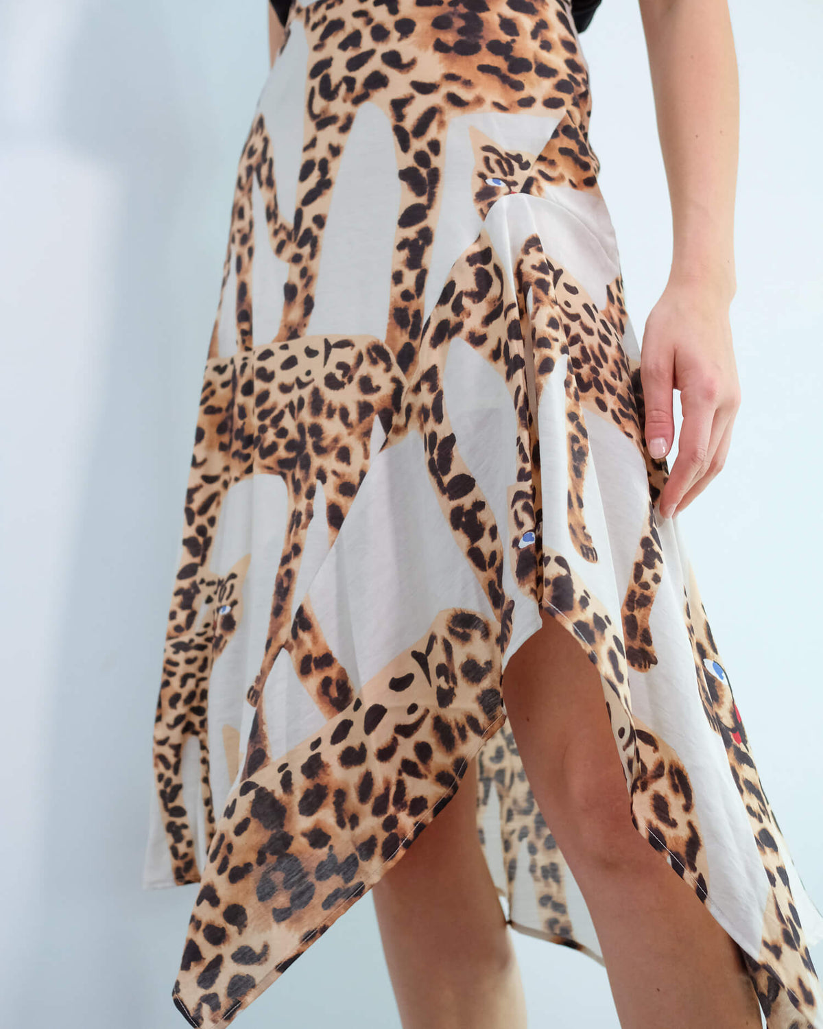 M Jeez skirt in camel