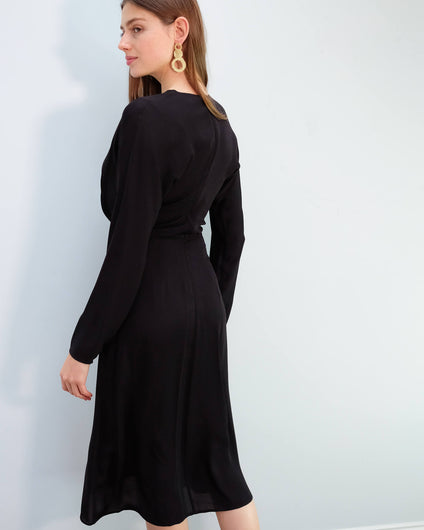 BMB Azolla dress in black