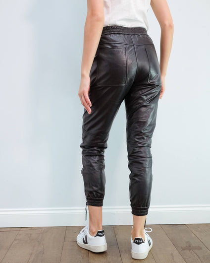 M Jadore zip trouser in black