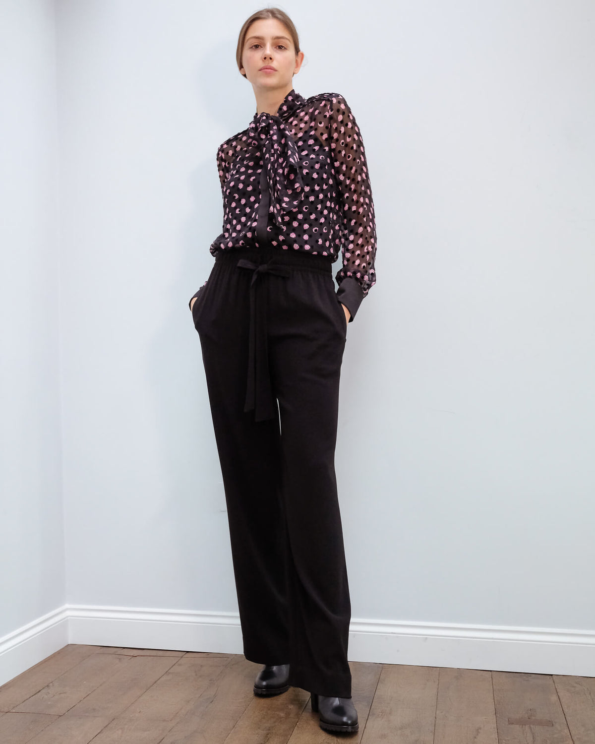 DVF Denise trousers in black