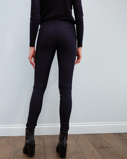 JOSEPH Gab stretch legging in navy