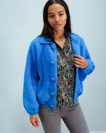 EA Wes Soft Cardi in Persian Sky