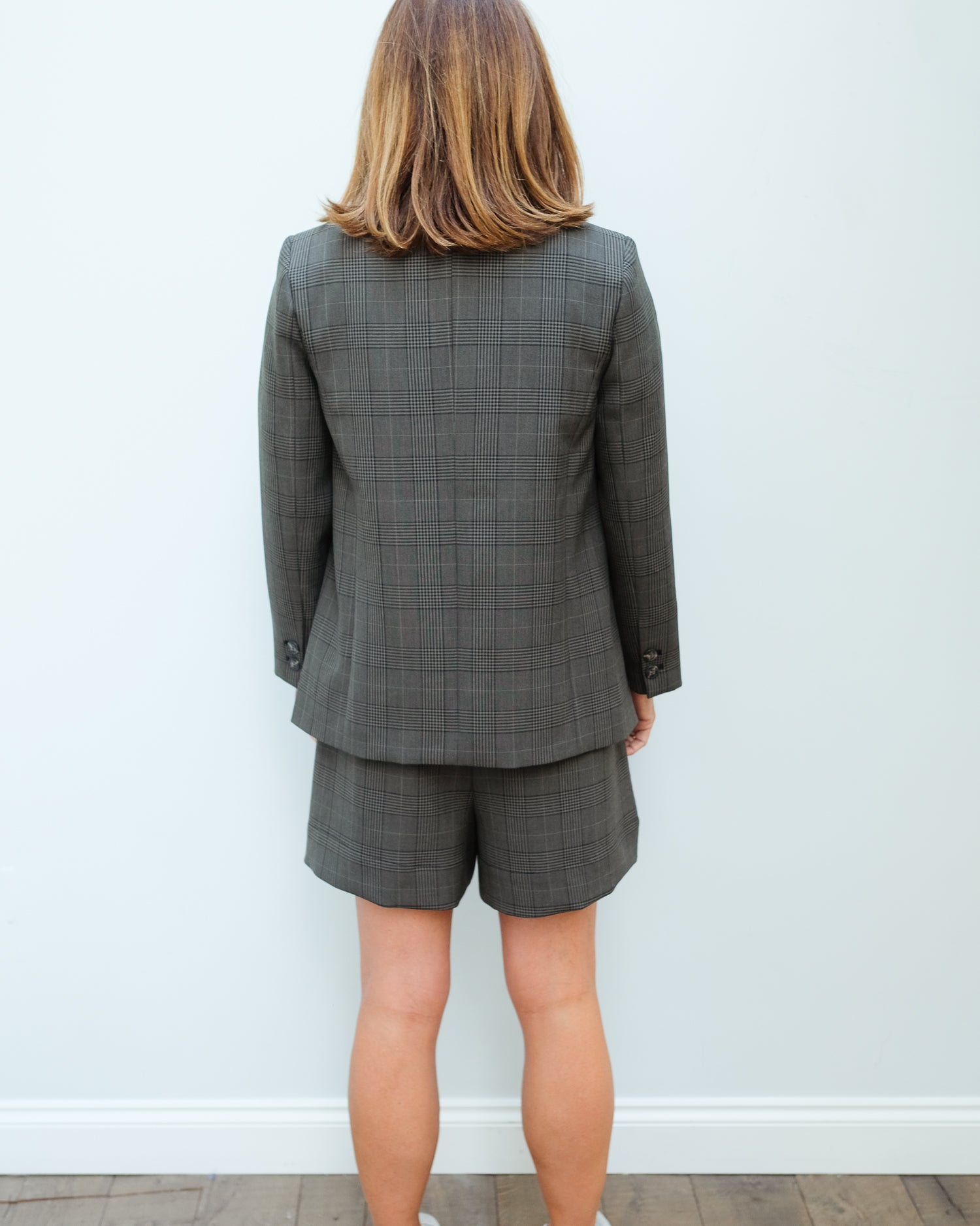 GANNI F4712 Suiting jacket in kalamata