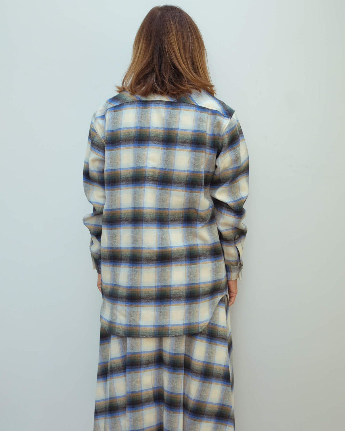 GG Allison boyfriend shirt in check