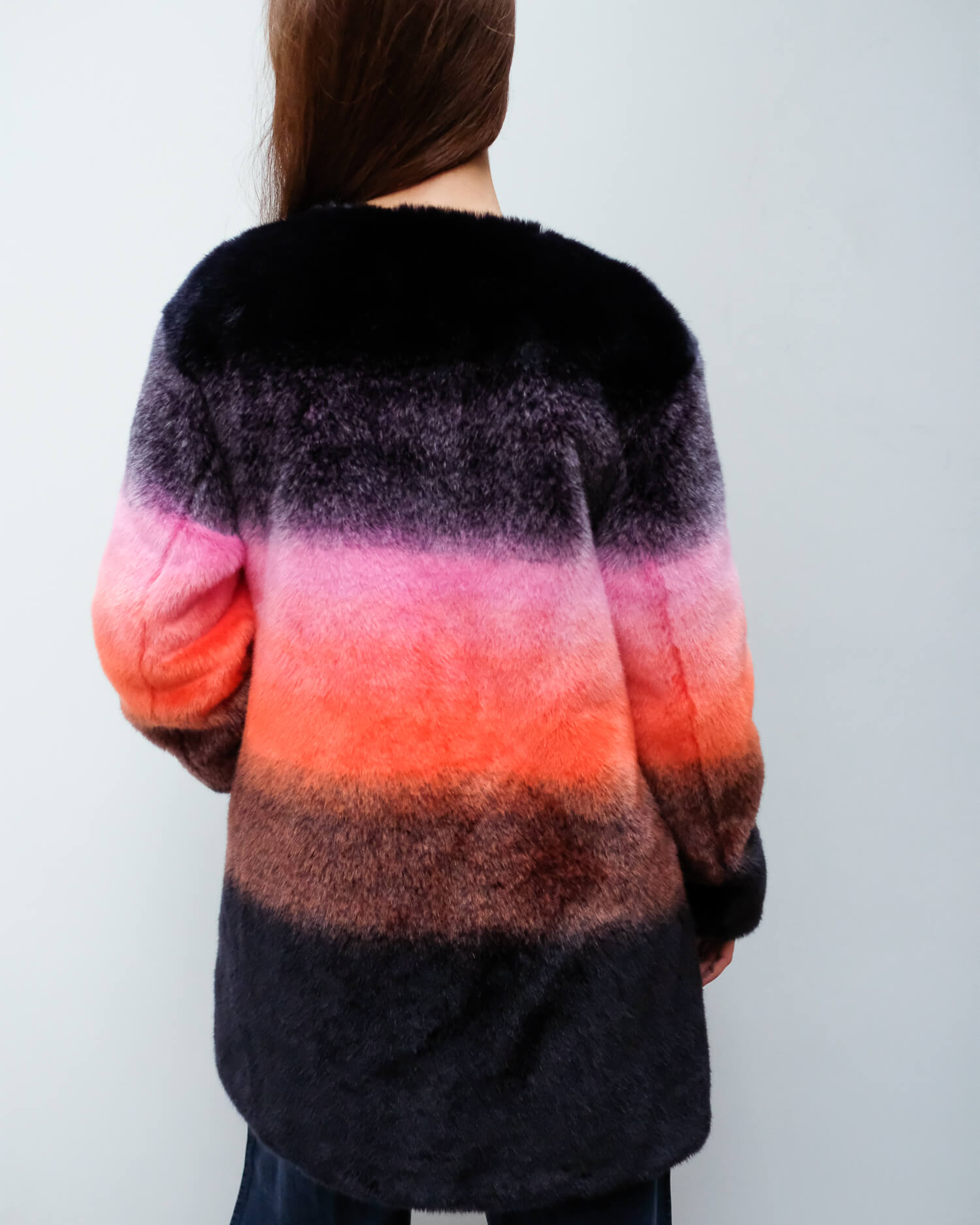 CHS Stella coat in sunset ombre