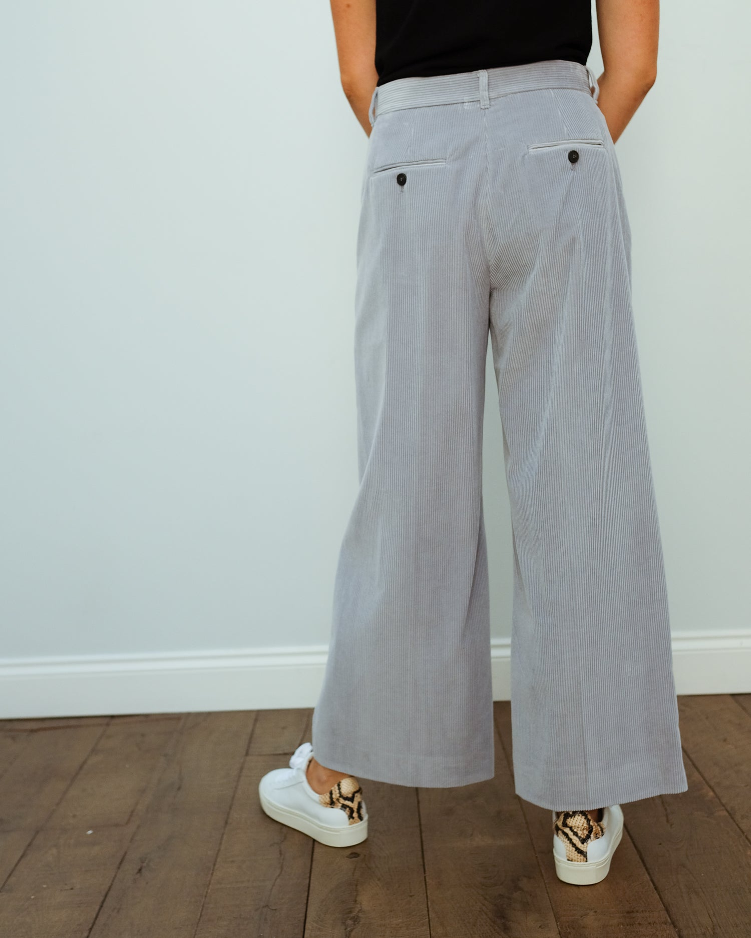 MM Tobia trousers in acqua marina