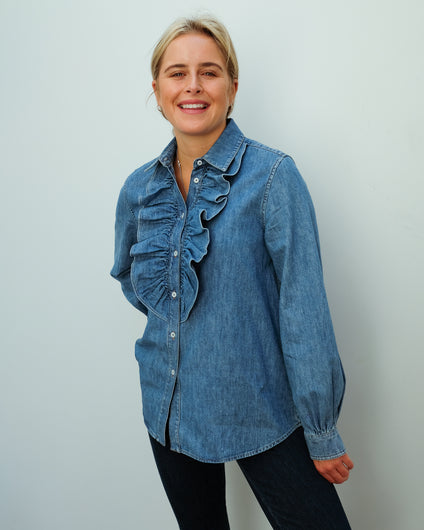 MM Ricerca shirt in denim