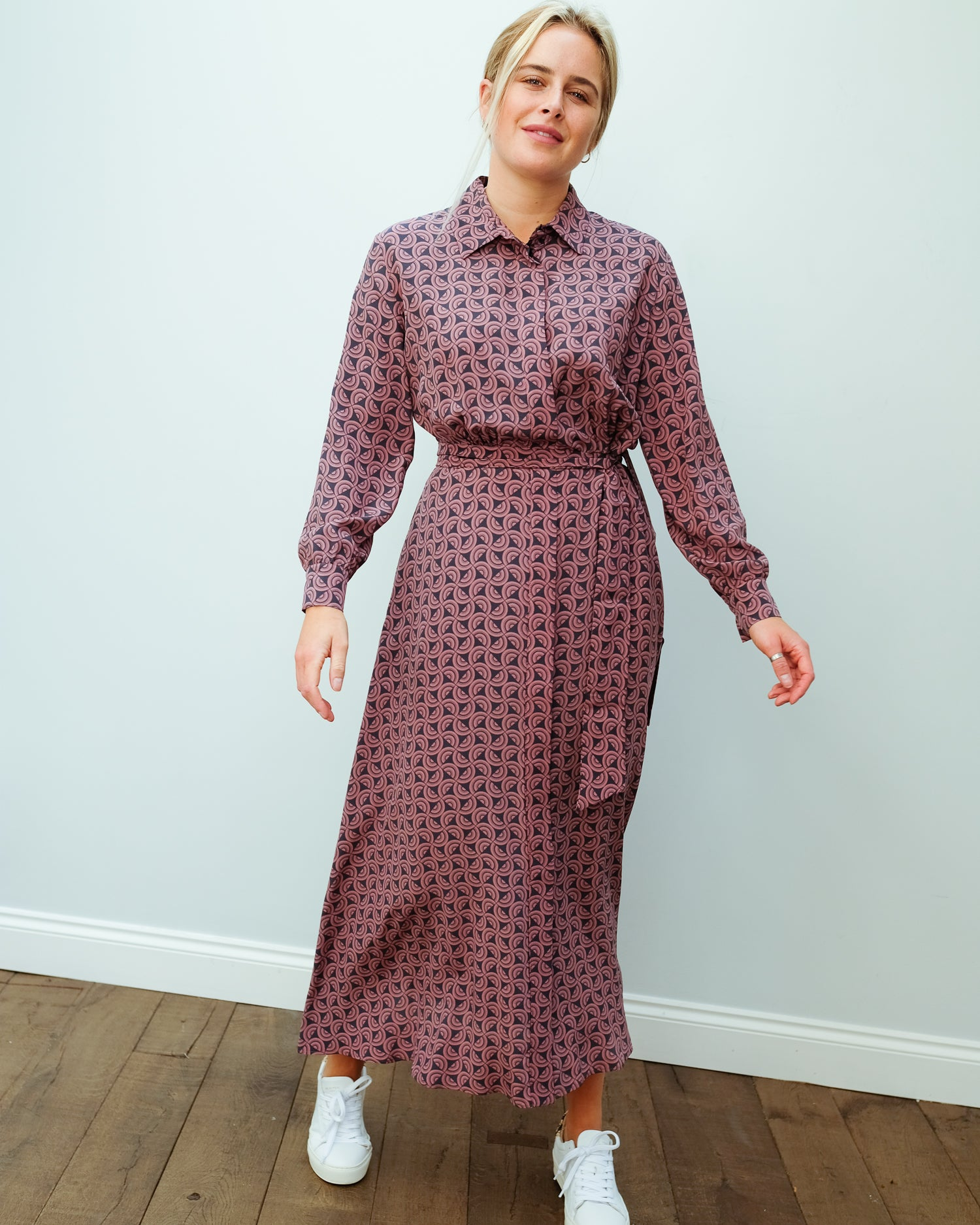 MM Ornella printed dress