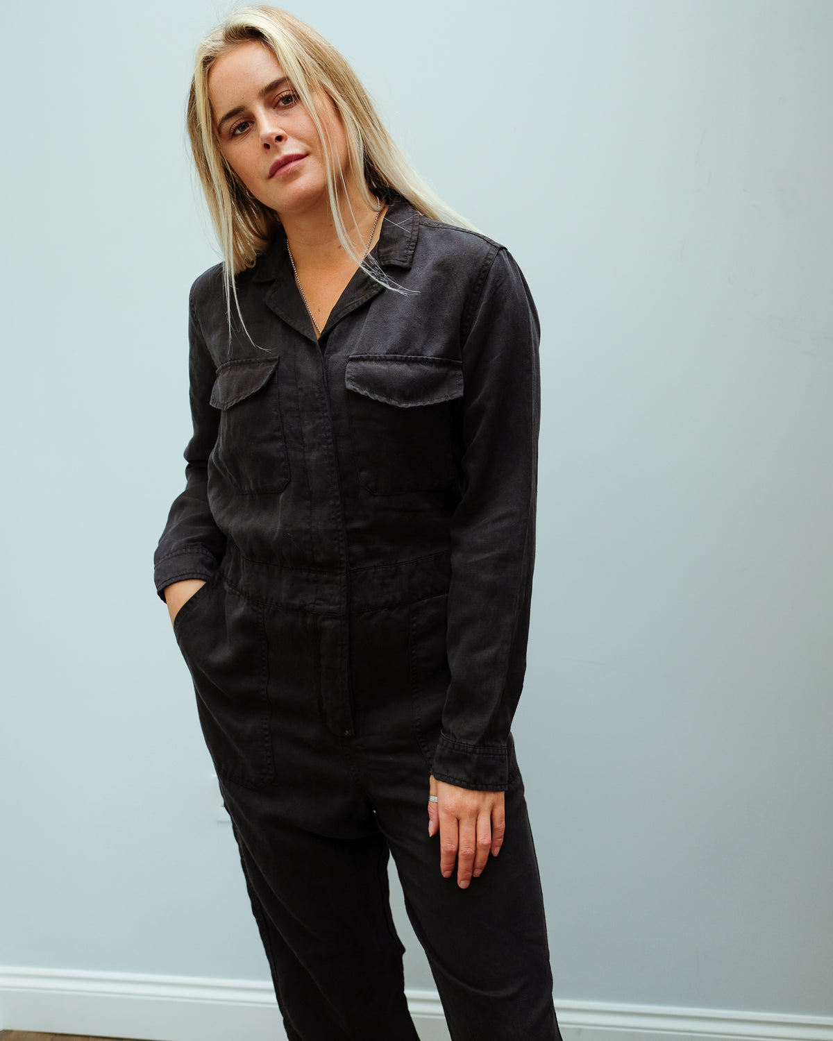 RAILS Dixon Jumpsuit in Coal